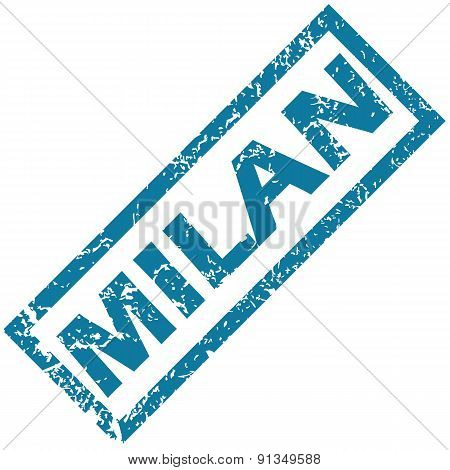Milan rubber stamp