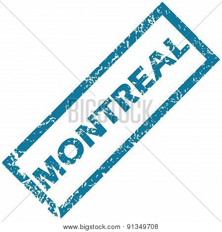 Montreal rubber stamp