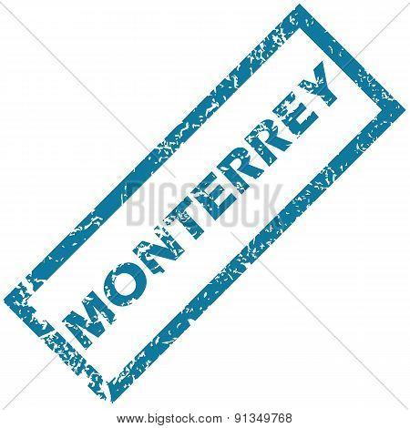 Monterrey rubber stamp