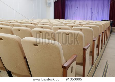Interior of an auditorium