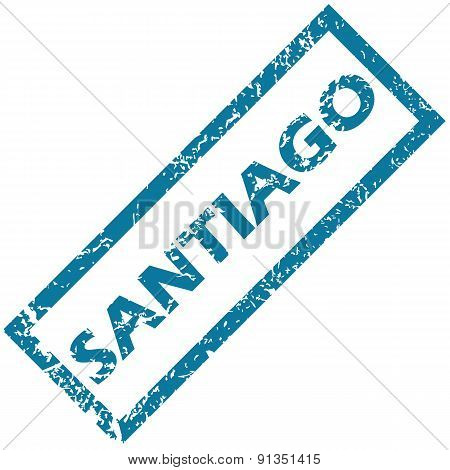 Santiago rubber stamp