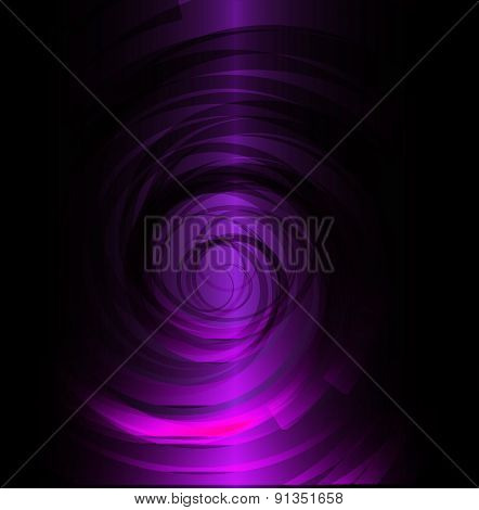 Dark Purple spiral background design template design template