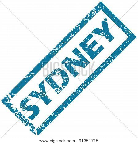 Sydney rubber stamp