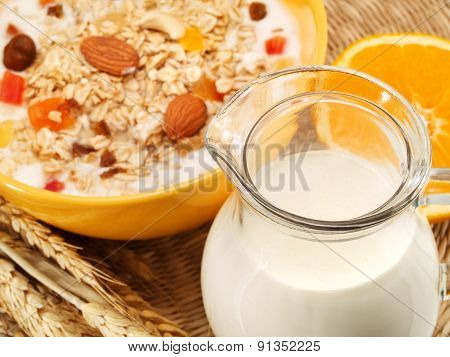 Cereal Breakfast