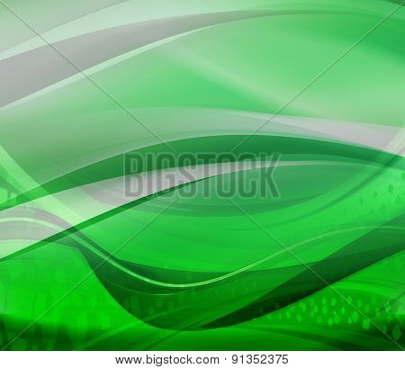 Bright green abstract background design illustration template
