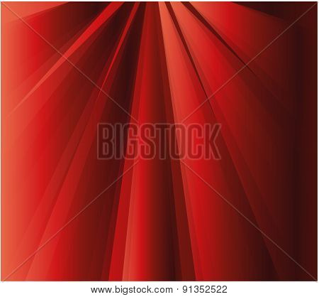 Rays effect red background