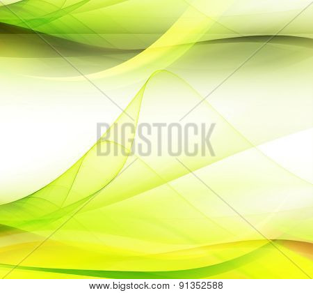 Soft green yellow gradients and effects background