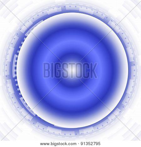 Blue modern circle Bright background
