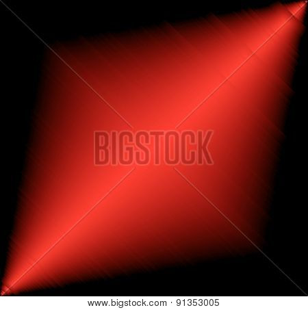 Red design with a burst vector
