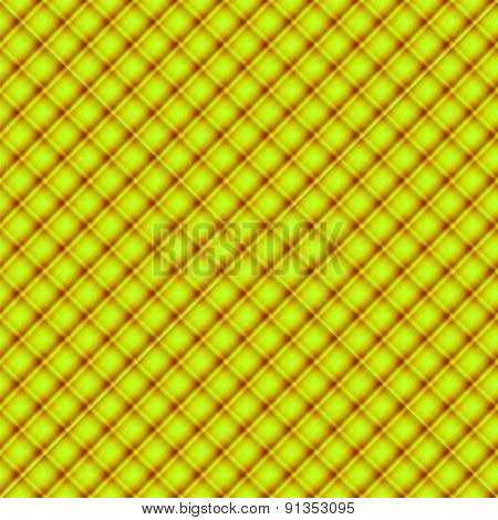 Yellow fabric cloth, seamless pattern