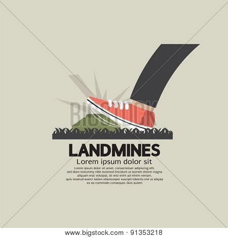 Foot Step On Landmines.