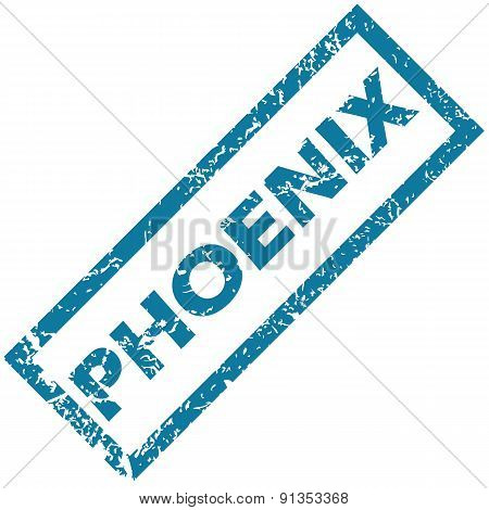 Phoenix rubber stamp