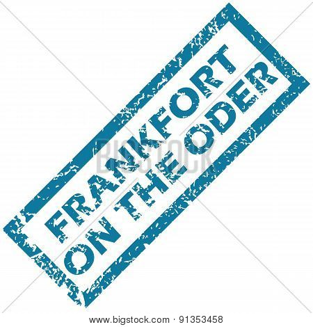 Frankfort on Oder rubber stamp