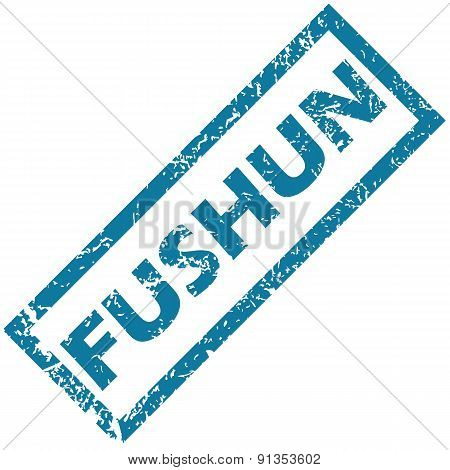 Fushun rubber stamp