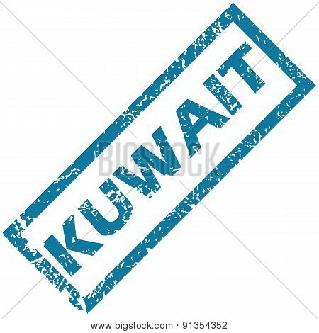 Kuwait rubber stamp