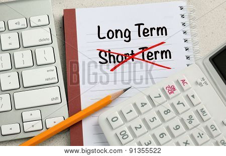 choice of long term decision