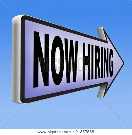 now hiring search job opening or offer for jobs vacancy help wanted