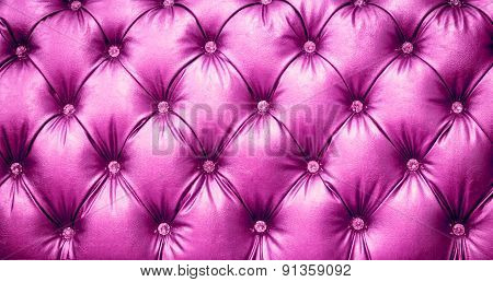 Pink Leather Texture Background