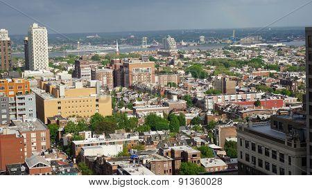 Aerial view of Philadelphia