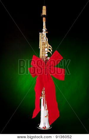 Soprano Saxophone Present Isolated