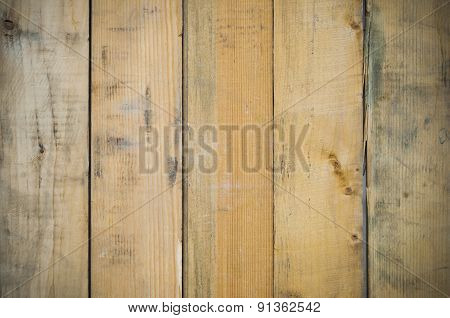 Dirty Pine Wood Background.