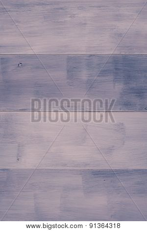 Purple Color Paint Plank Wall