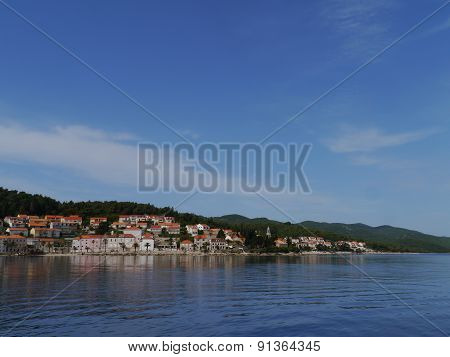 Korcula town in Croatia