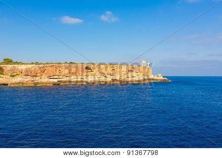 Majorca Cala Figuera in Santanyi Mallorca Balearic islands of spain