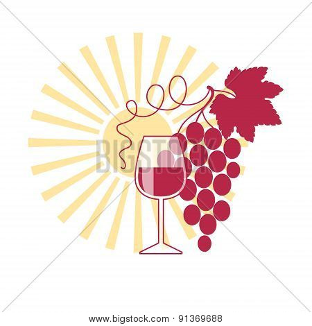 Emblem Of Wine