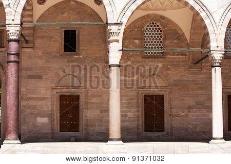 Süleymaniye Mosque Courtyard, Istanbul