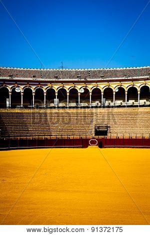 Bullring In Sevilla