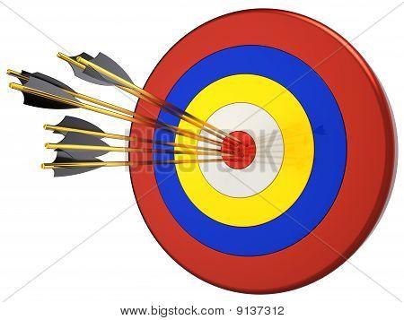 Hit a target. Sniper concept (Hi-Res)