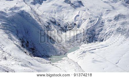 Snow Glacier Mountains