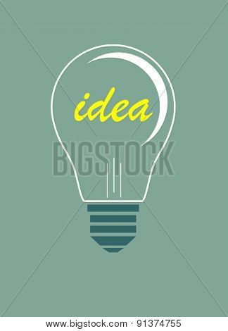 Idea vector illustration