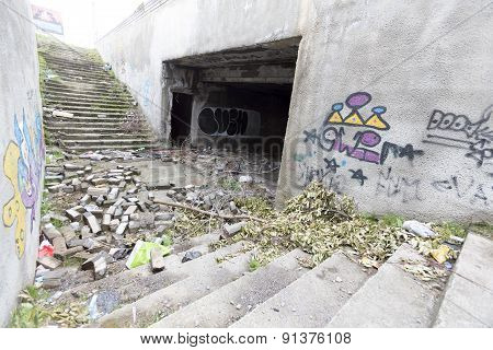 Abandoned Underpass