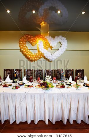 Festive Wedding Table