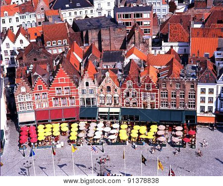 The Market Place, Bruges.