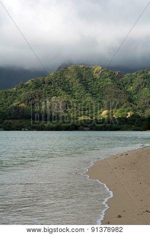 Early Morning Scene At The Hawaii, Usa