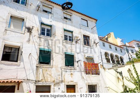 House in the Alfama district