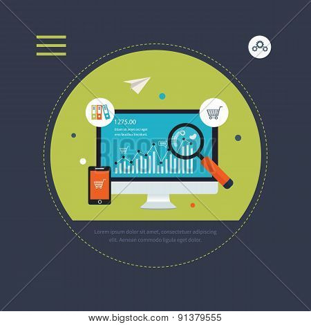 Website SEO optimization and mobile marketing