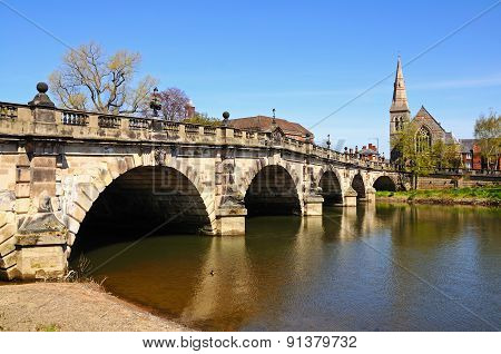 The English Bridge, Shrewsbury.