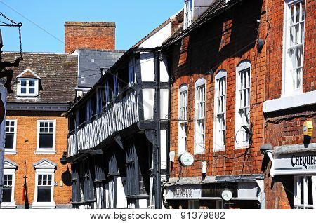 Butcher Row Buildings, Shrewsbury.