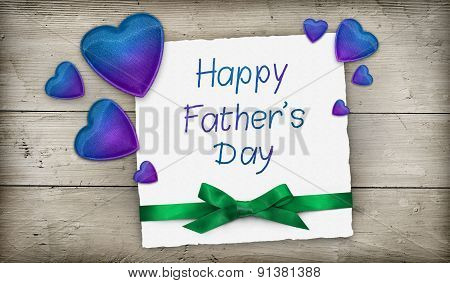 Fathers day greeting banner