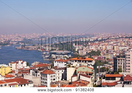 The Golden Horn, Istanbul, Turkey (Asian side)