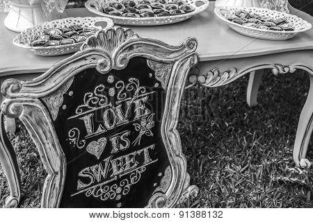 Diy Wedding Love Is Sweet