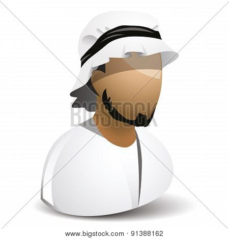 icon of arabic man