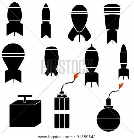 Bomb Icons