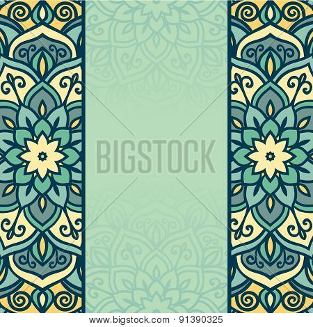 Abstract round ornamental