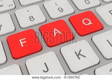 Keyboard - Faq - Red