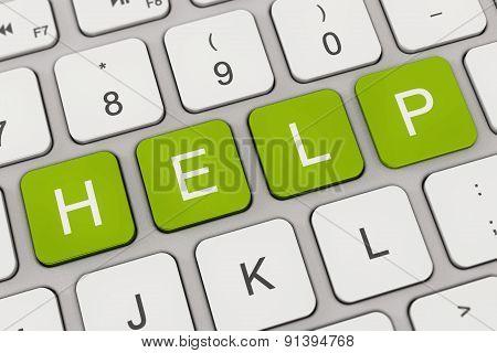 Keyboard - Help - Green